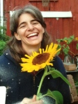 Apprentice Kari's smile is as bright as that sunflower! 2011