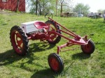 The completed tractor.